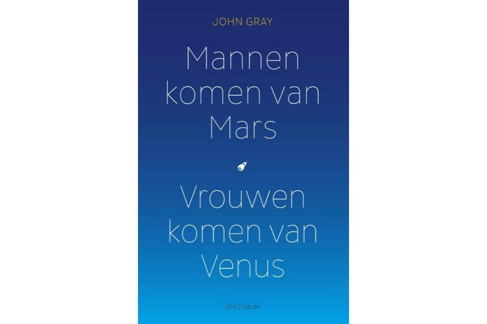 'Mannen komen van Mars, vrouwen komen van Venus' van John Gray