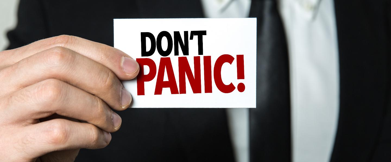 online in gesprek, geen paniek!