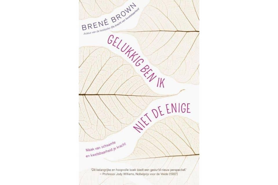 'Gelukkig ben ik niet de enige' van Brené Brown